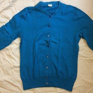 J. Crew cotton cardigan